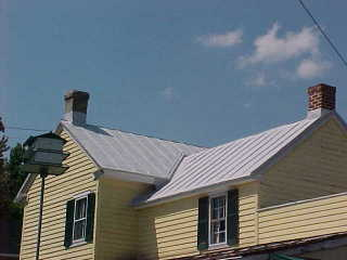 Roof Menders metal roof project in Chesapeake City